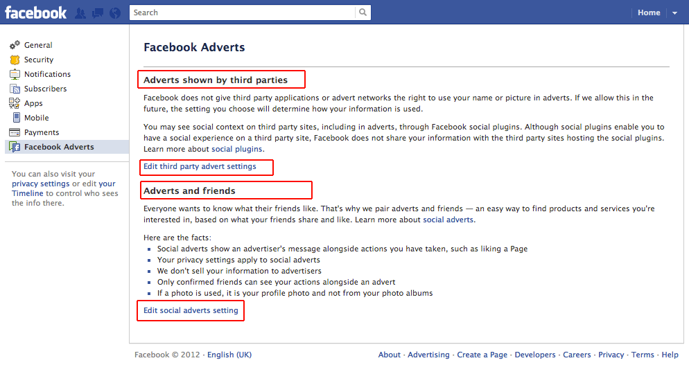 how to make facebook private to public