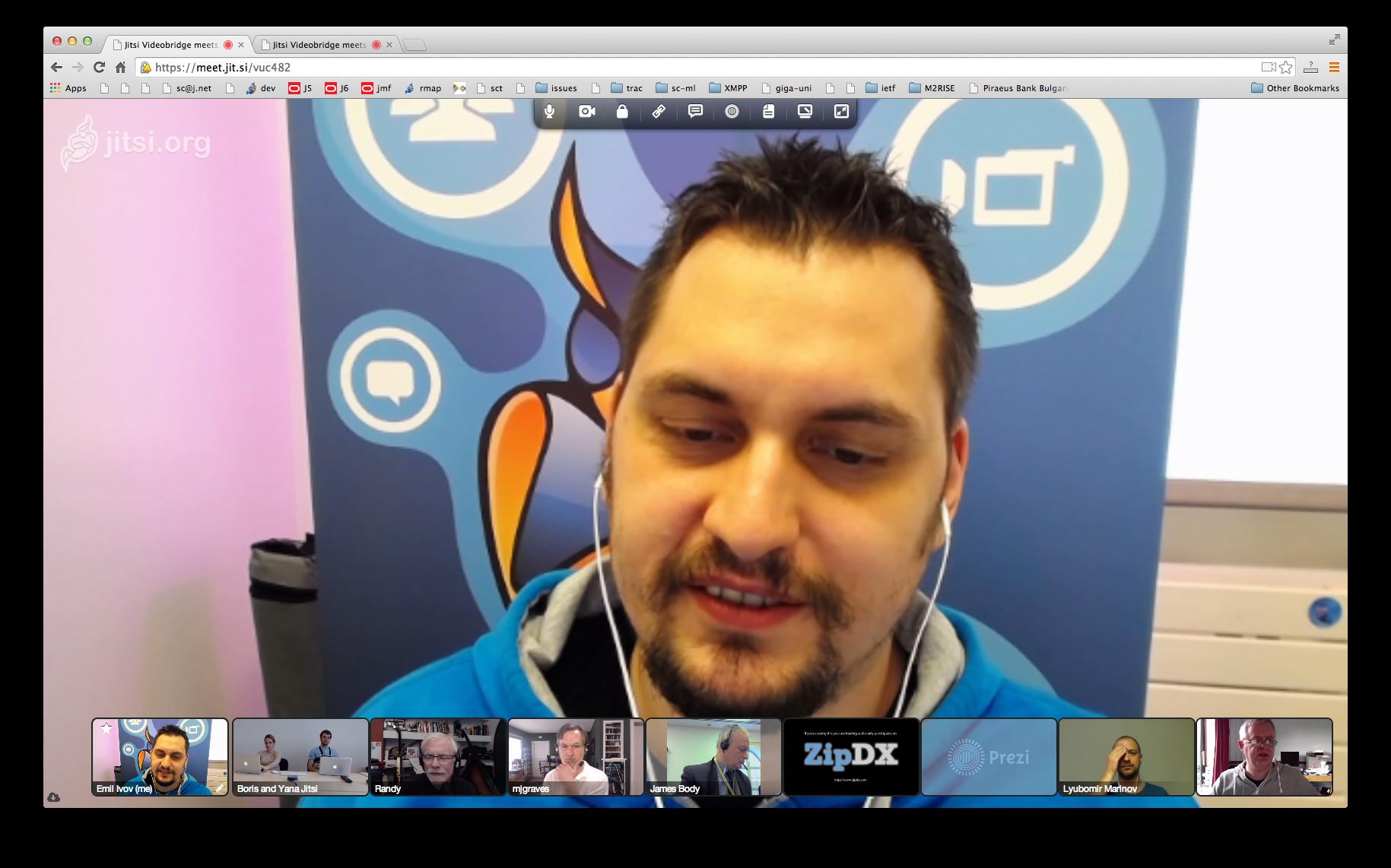 Firefox Jitsi Meet